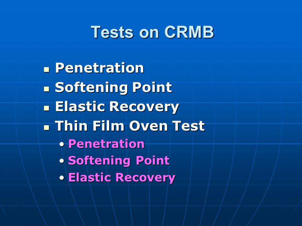 Grades of CRMB Grades of CRMB GRADES HP GRADES GRADES HP GRADES CRMB 50 HP MB(CR) 50 CRMB 55 HP MB(CR) 55 CRMB 60 HP MB(CR) 60 Meets IRC:SP:53-2002