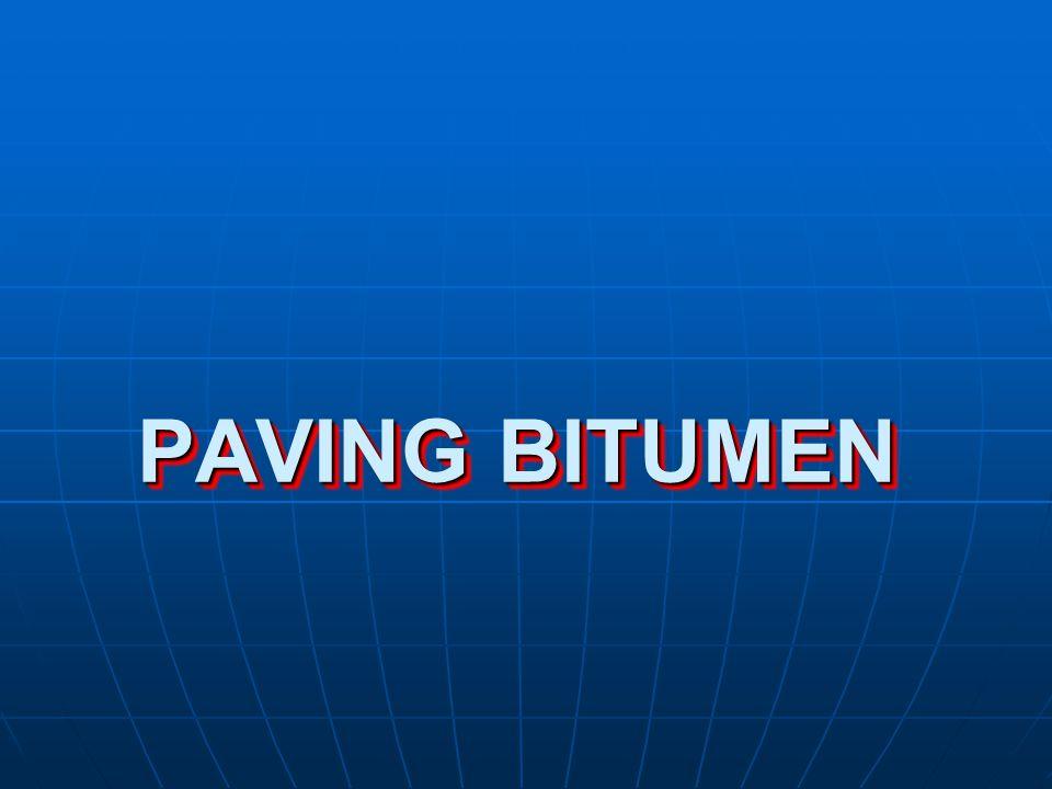 Bitumen Conventional Bitumen Conventional Bitumen  Paving Grade Bitumen  Industrial Grade Bitumen Cutback Cutback Bitumen Emulsions Bitumen Emulsions Modified Bitumen Modified Bitumen Modified Bitumen Emulsions Modified Bitumen Emulsions
