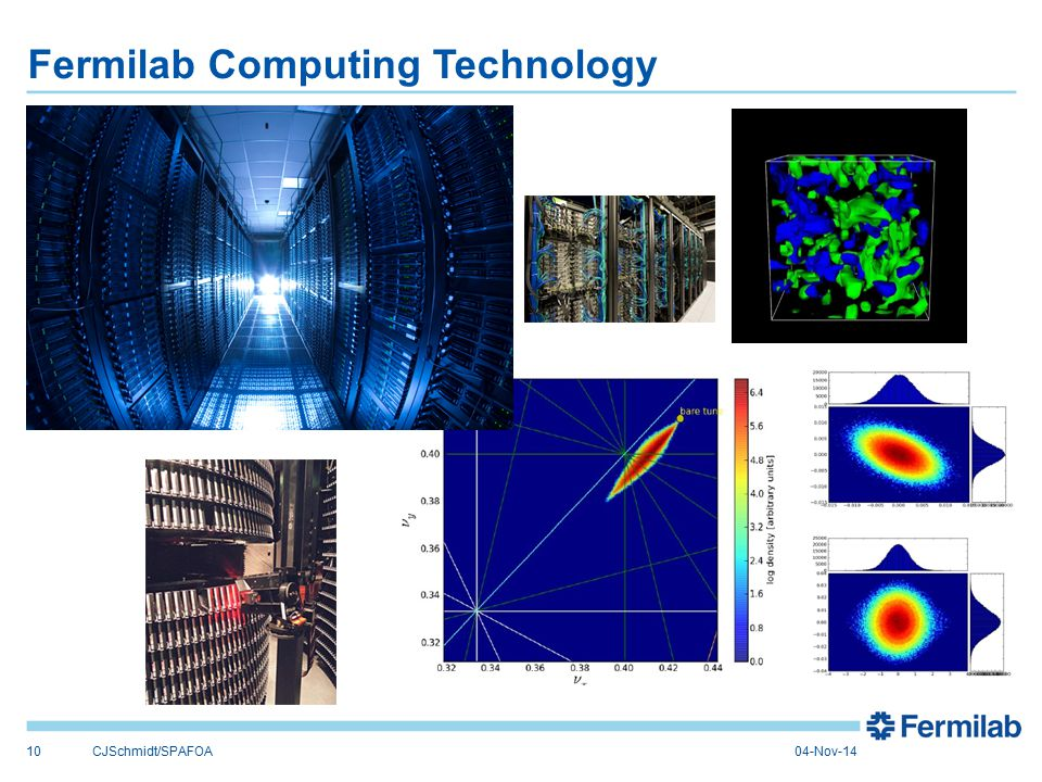 Fermilab Computing Technology 10CJSchmidt/SPAFOA04-Nov-14