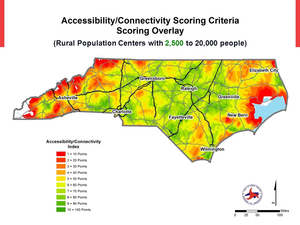 (Rural Population Centers with 2,500 to 20,000 people)