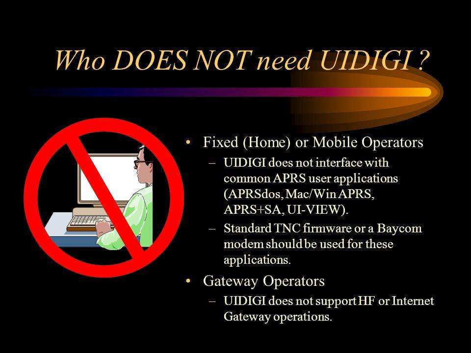 Why UIDIGI was written.