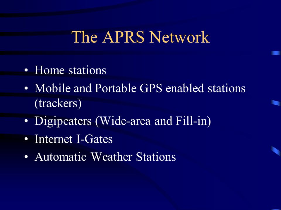 For Additional Information Wisconsin APRS discussion group: groups.yahoo.com/group/wisconsinaprs web site: http://wisconsinaprs.net KB9VBR APRS page: www.kb9vbr.net Michael Martens: kb9vbr@wvraclub.org Mark Rasmussen: n9mea@wisconsinaprs.net