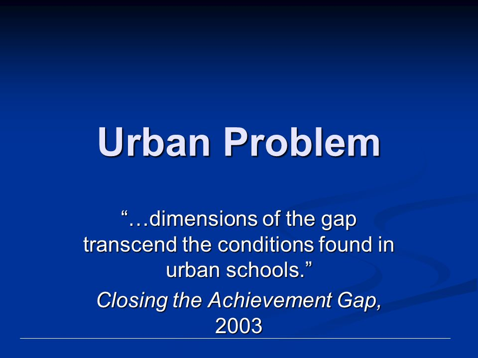 Federal Role Support sound educational research Support sound educational research Improve teacher quality Improve teacher quality Broaden assessments Broaden assessments All Students Reaching the Top, Strategies for Closing Academic Achievement Gaps, NCREL 2004
