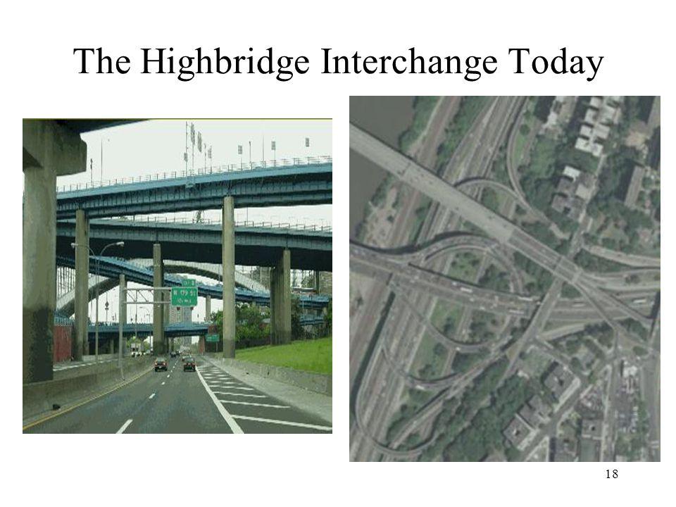 18 The Highbridge Interchange Today