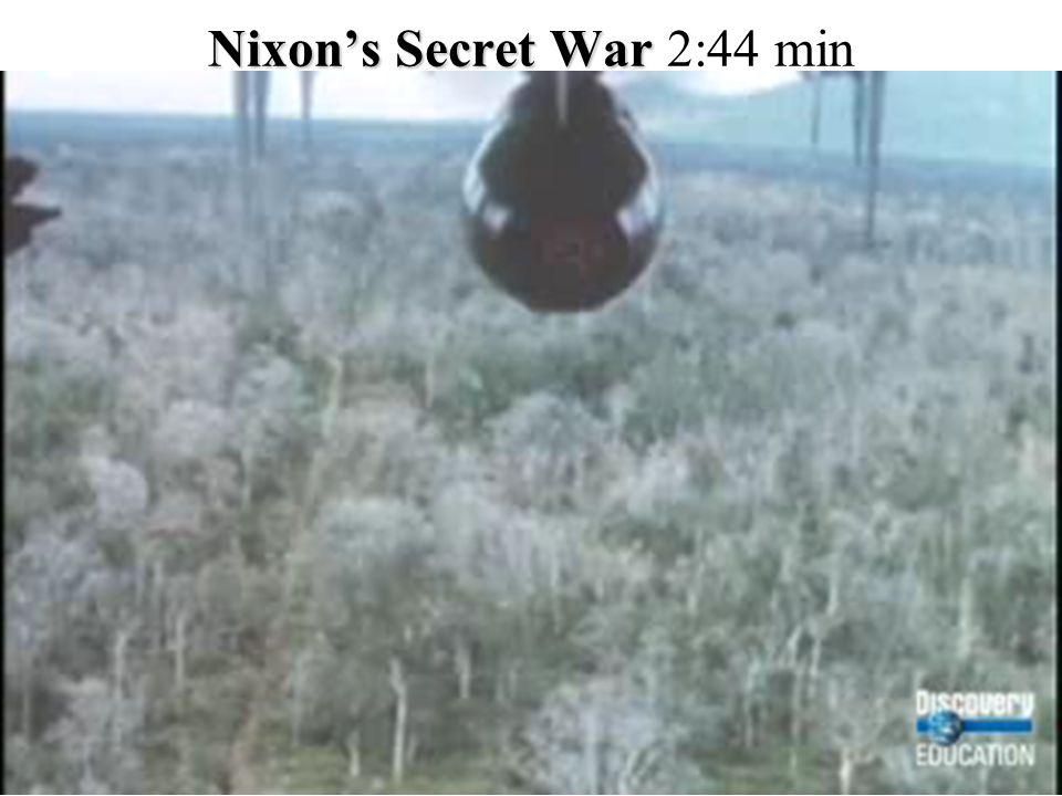 Nixon's Secret War Nixon's Secret War 2:44 min.