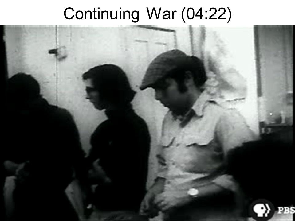 Continuing War (04:22)