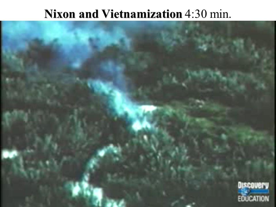 Nixon and Vietnamization Nixon and Vietnamization 4:30 min.