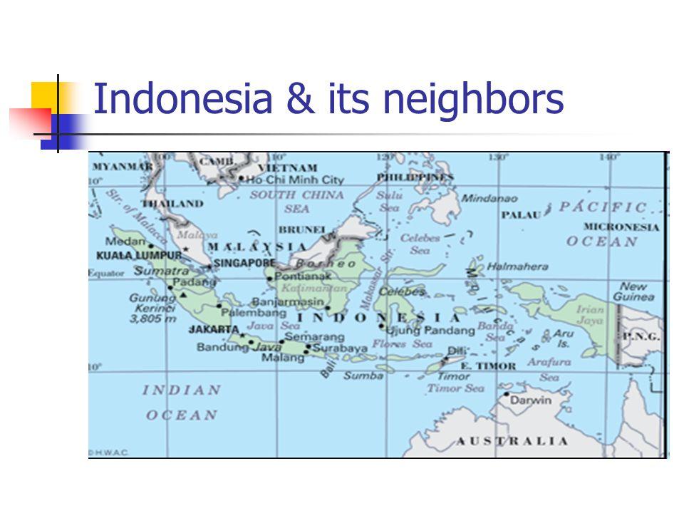 Short facts - 1 Capital: Jakarta Population: 240.271.522 (July 09 est) Islands: 17.508 islands Size: 5.150 km accross National language: Indonesian Local languages: over 580 Religion: 87% Islam + 13% Christian, Hindu, Budha.