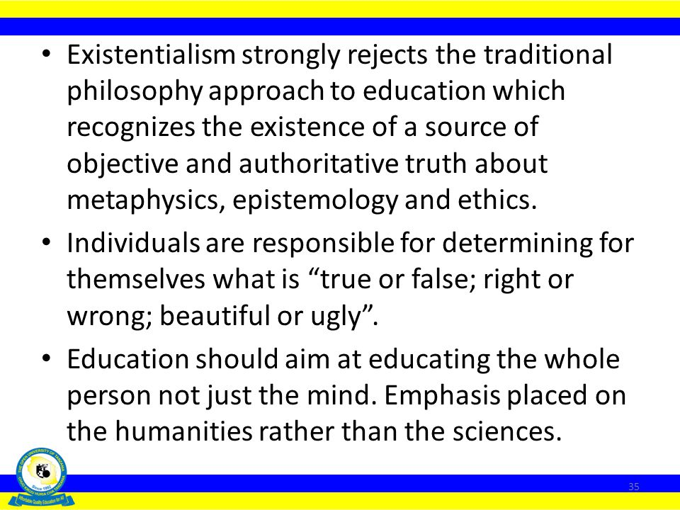 Educational theories of traditional philosophy include perennialism, essentialism and behaviourism. The Nature and Thrust of Modern Philosophies Moder