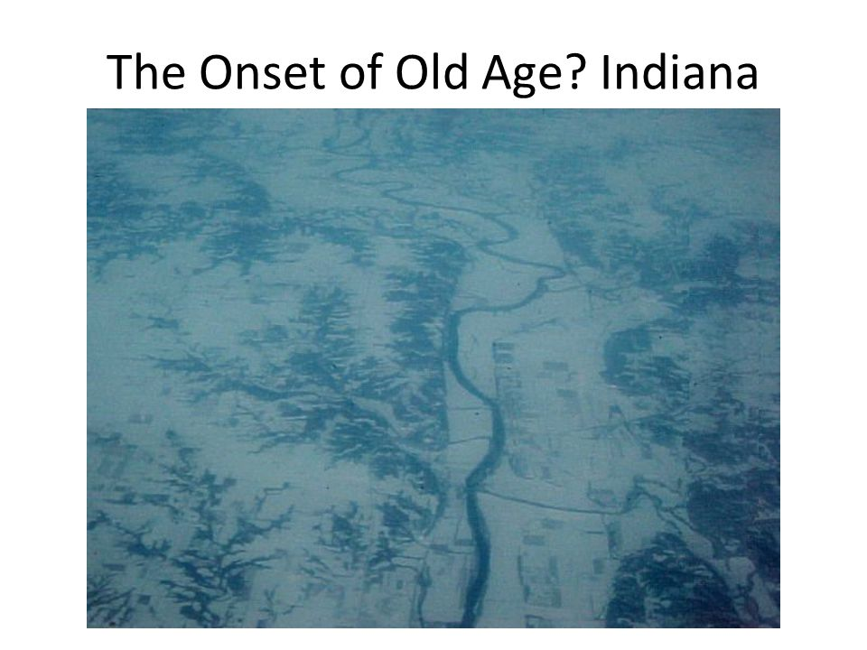 The Onset of Old Age? Indiana
