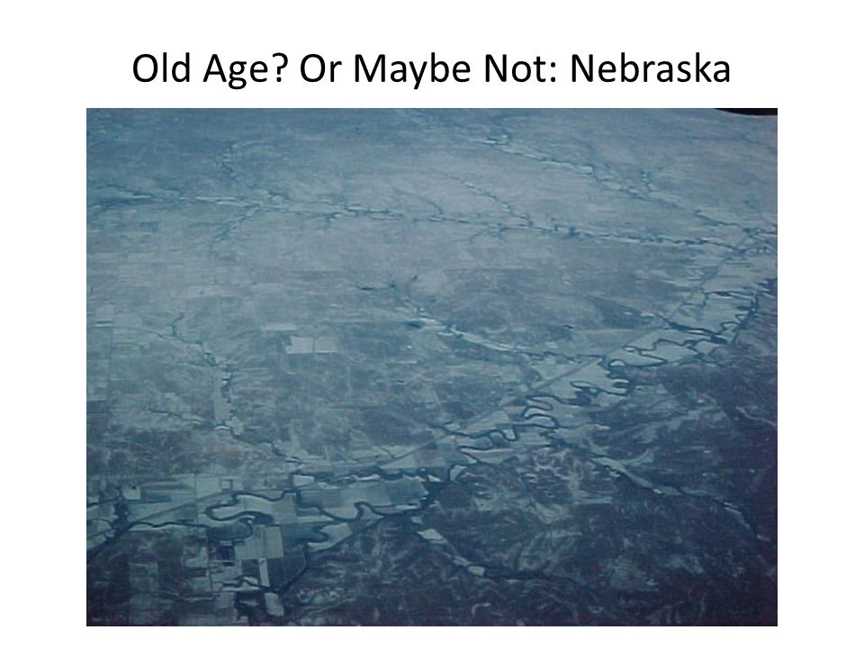 Old Age? Or Maybe Not: Nebraska