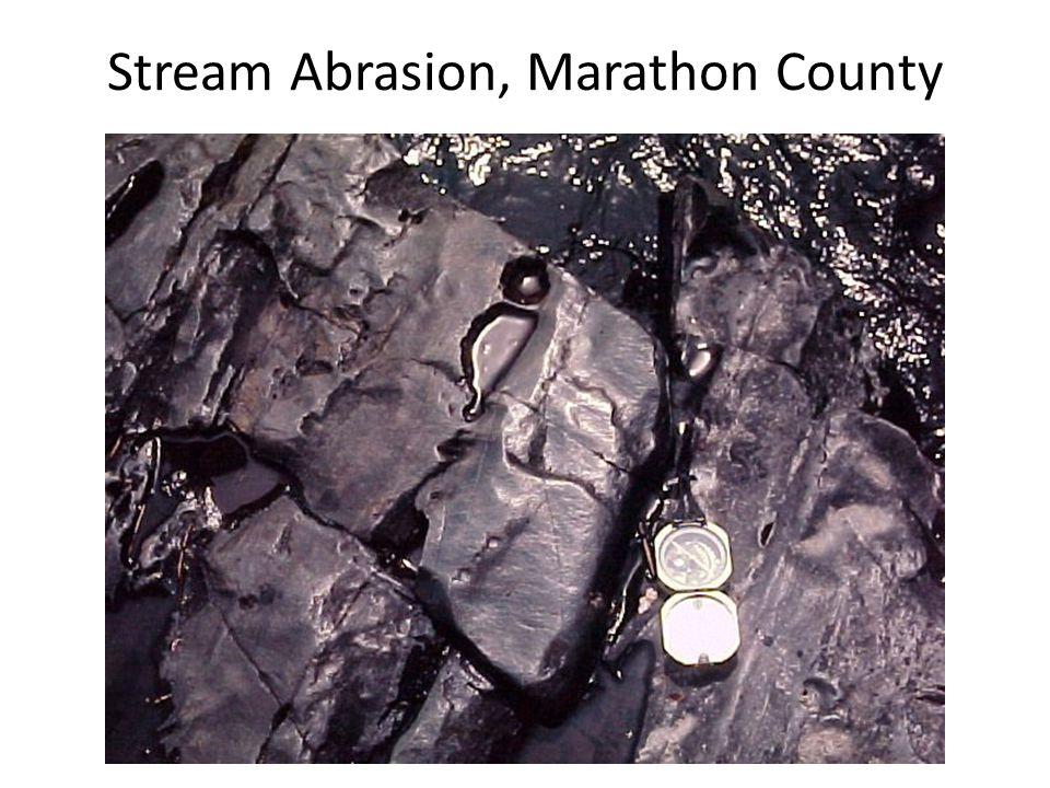 Stream Abrasion, Marathon County