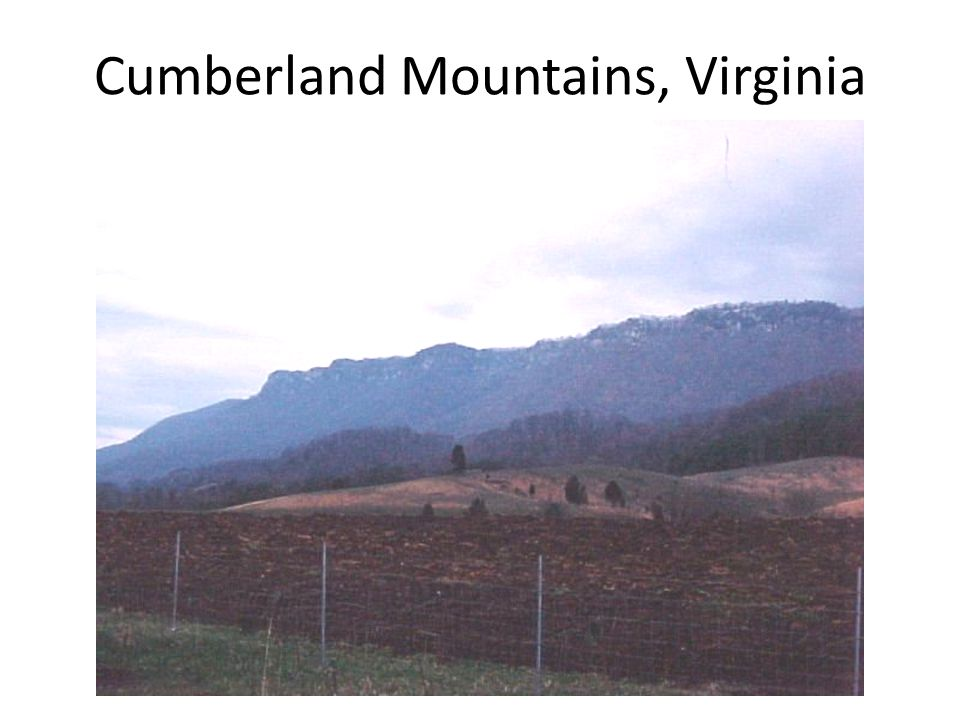 Cumberland Mountains, Virginia