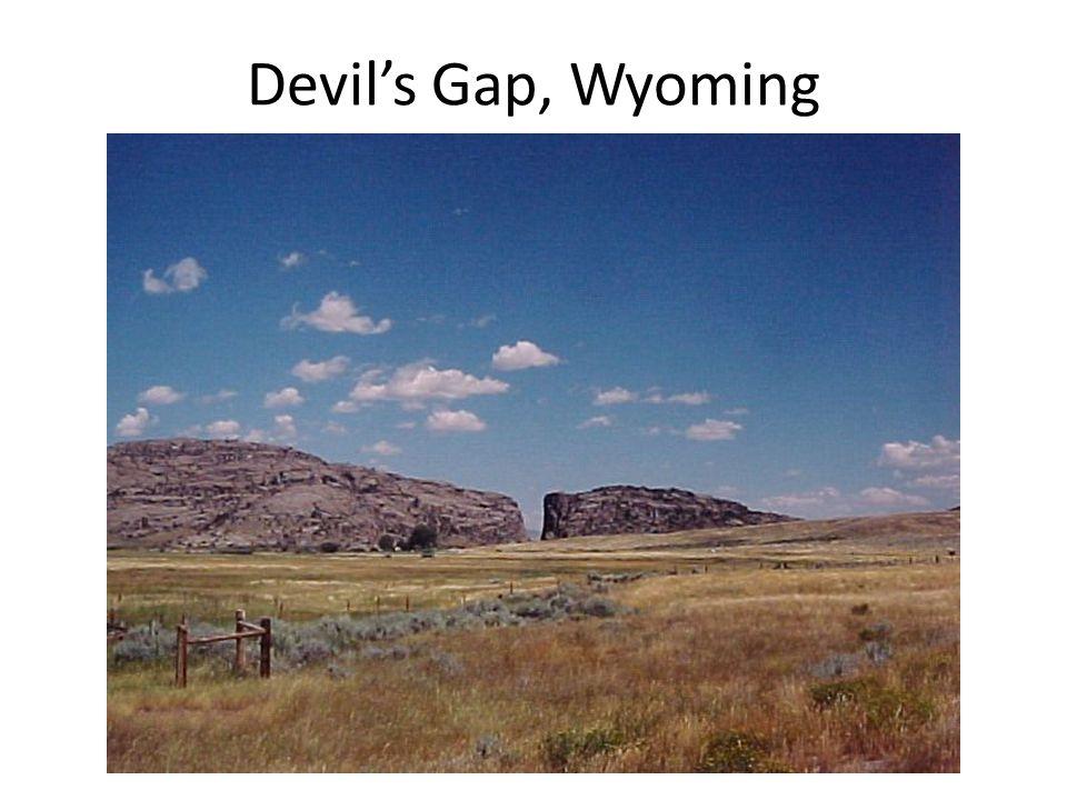 Devil's Gap, Wyoming