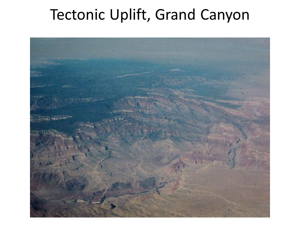 Tectonic Uplift, Grand Canyon
