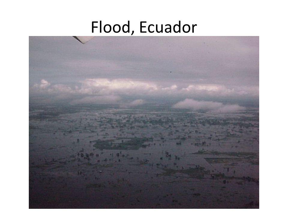 Flood, Ecuador