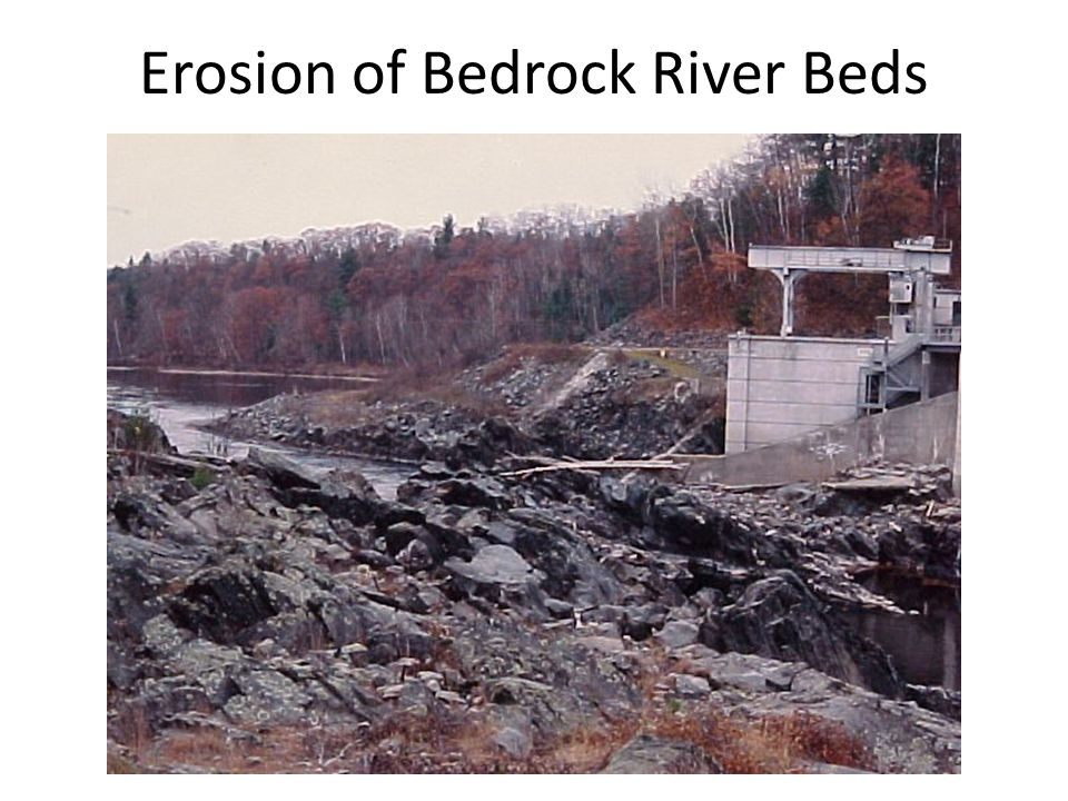 Erosion of Bedrock River Beds