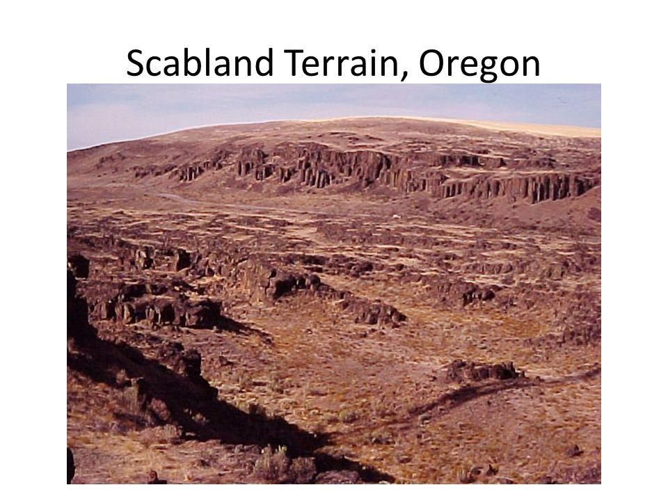 Scabland Terrain, Oregon