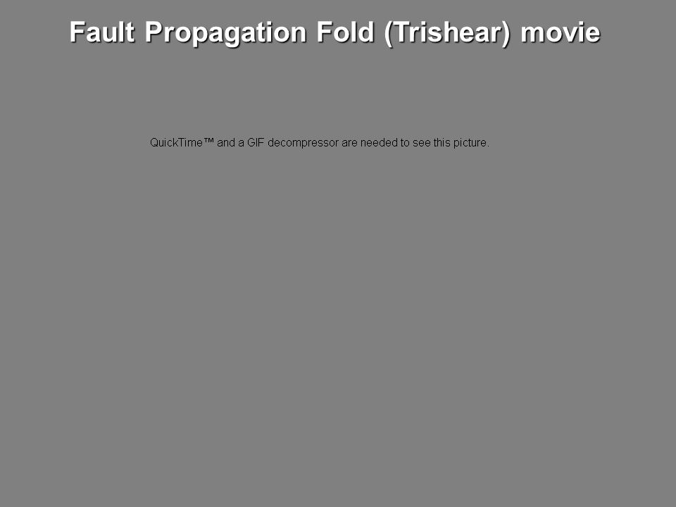 Fault Propagation Fold (Trishear) movie