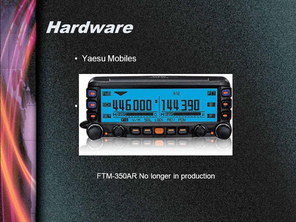 Hardware Yaesu Mobiles AV Map FTM-350AR No longer in production