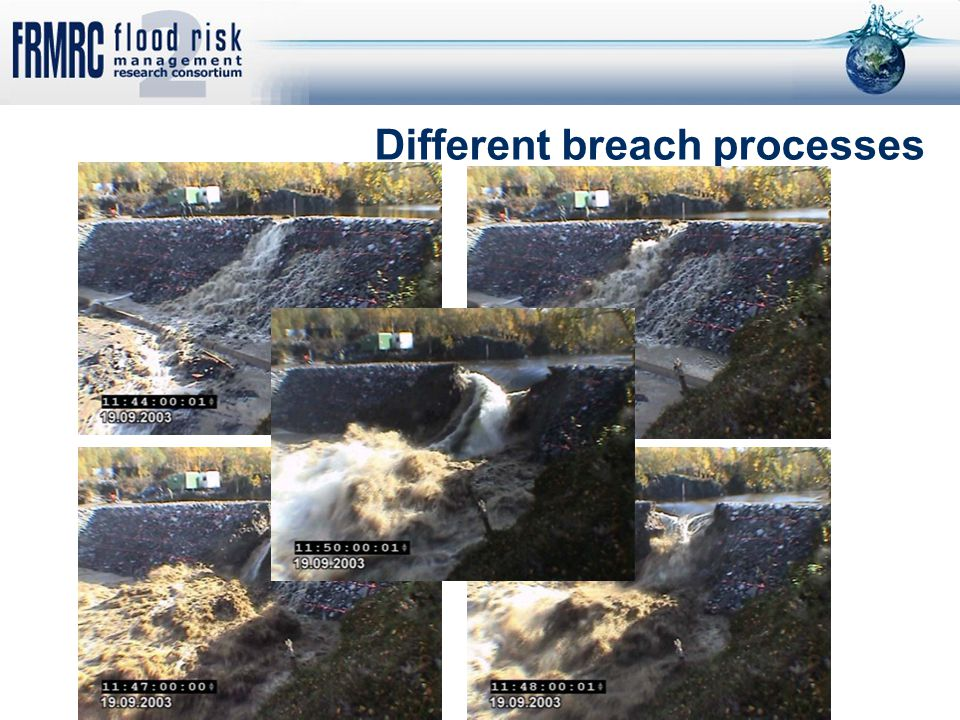 Different breach processes