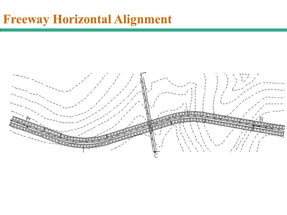 Freeway Horizontal Alignment