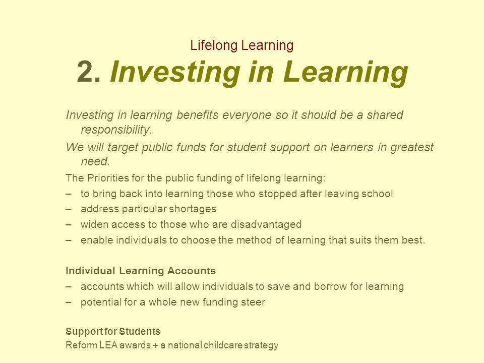 Lifelong Learning 2.