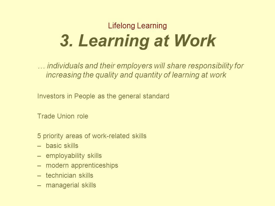 Lifelong Learning 3.