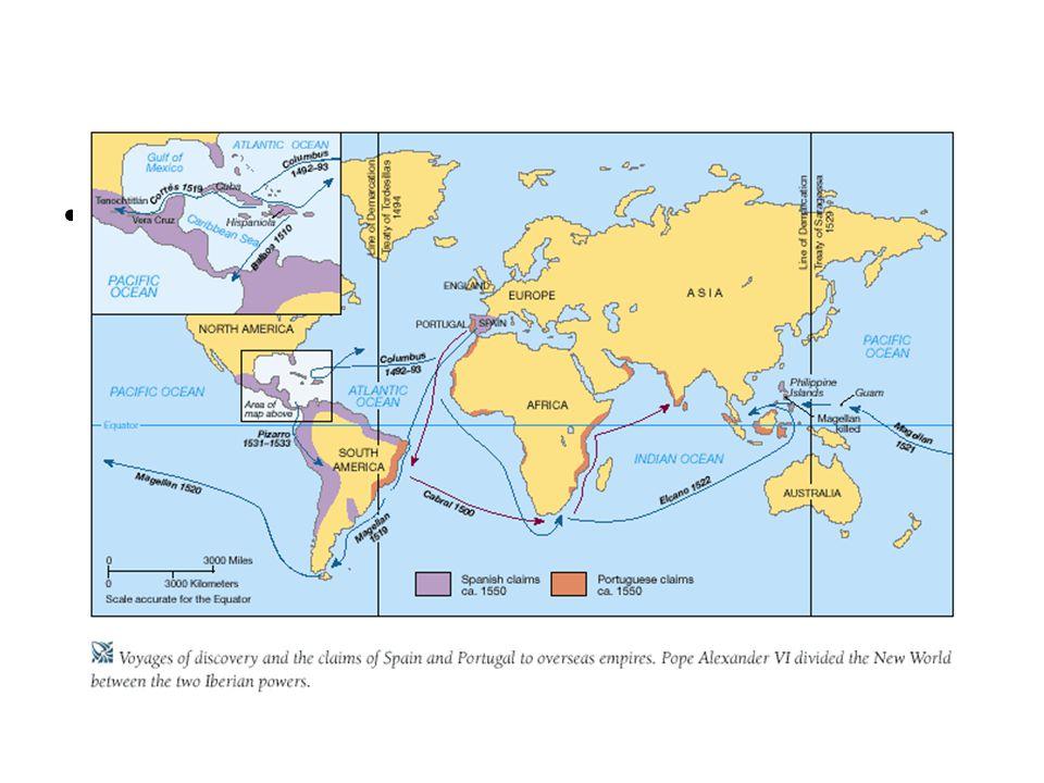 Maps of Spanish exploration