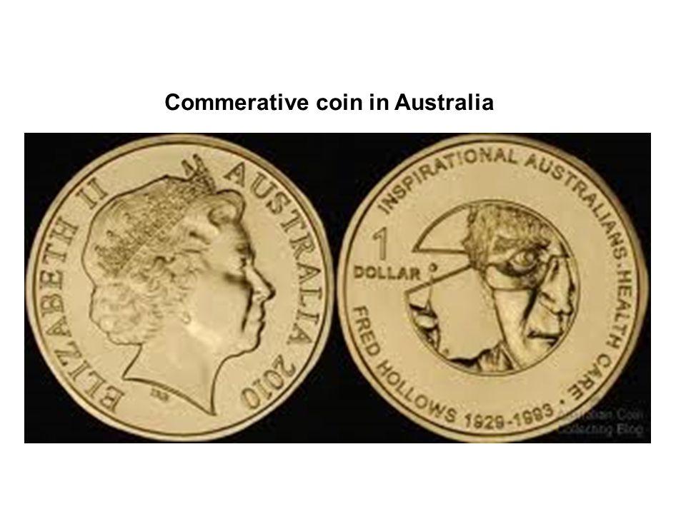 Commerative coin in Australia