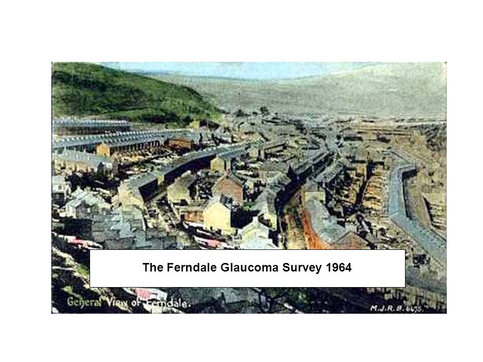 The Ferndale Glaucoma Survey 1964