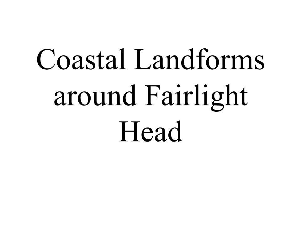 Coastal Landforms around Fairlight Head