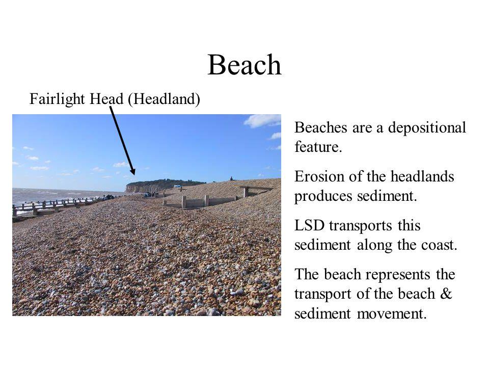 Beach Fairlight Head (Headland) Beaches are a depositional feature.