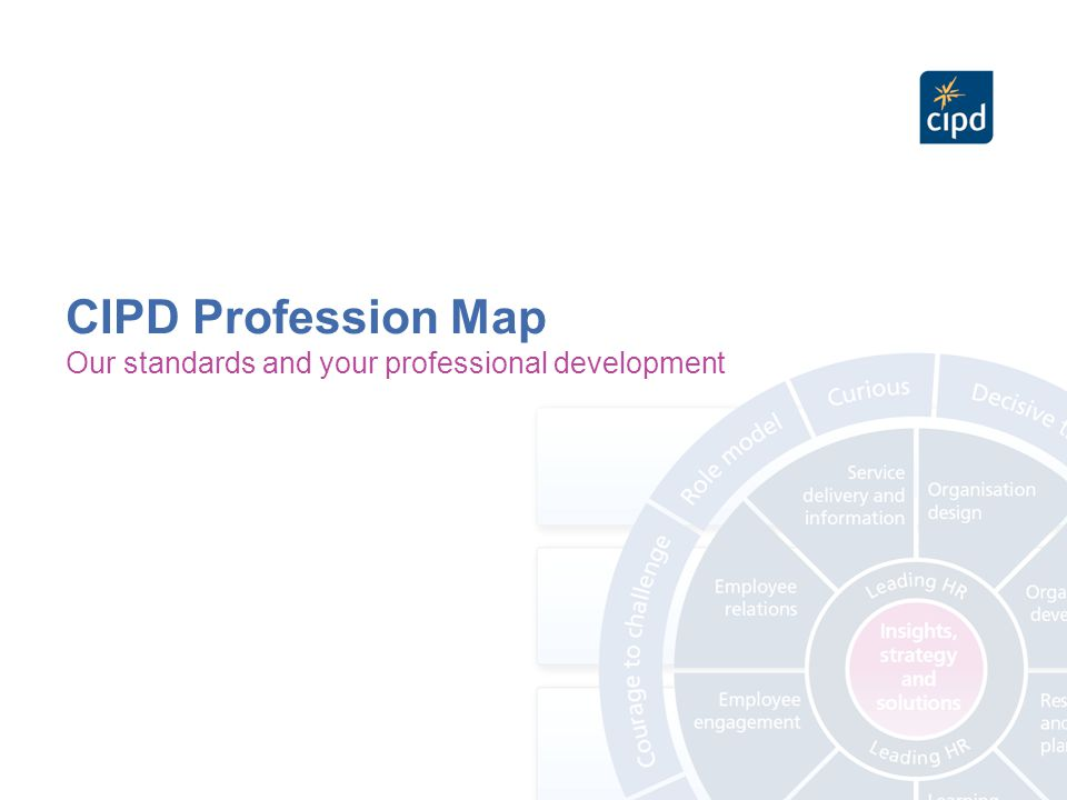 'We initially chose the CIPD as our partner for this project as the CIPD HR Profession Map was the external tool which resonated most closely with us.' Julie Hudtohan, Global HR for HR Director Unilever To craft a highly pragmatic skills dictionary which updates the 2006 version and resonates with the real-life experiences and aspirations of the entire HR team.