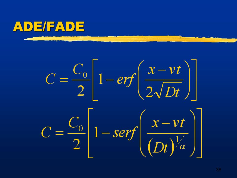 38 ADE/FADE