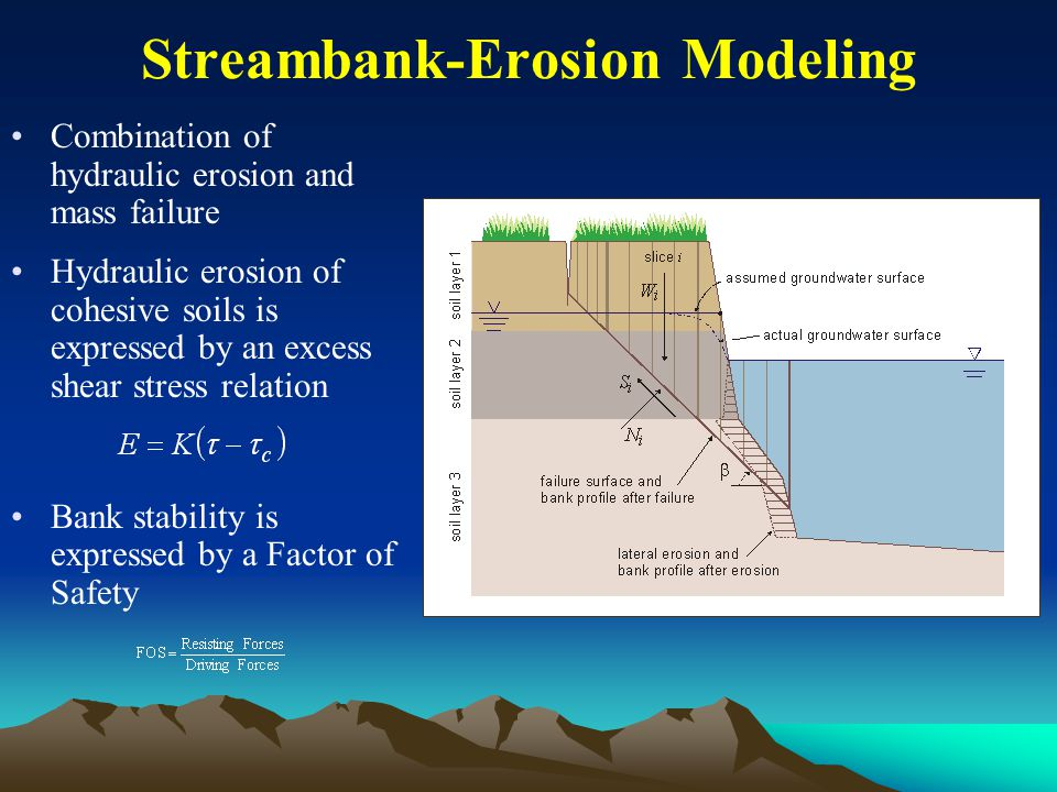 Summary and Conclusions Whether disturbances are natural or anthropogenic, occur at slow rates over long periods of time or are catastrophic and instantaneous, incision occurs because of an imbalance between sediment supply and transporting power.