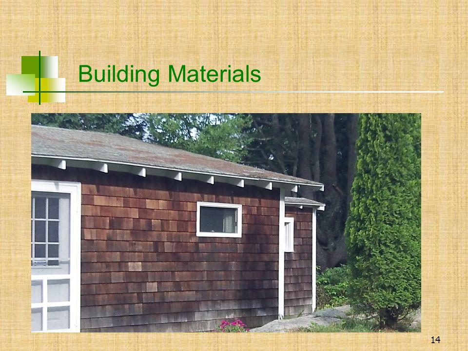 14  Building Materials