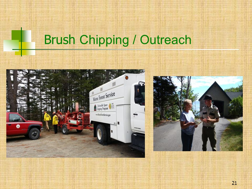 21 Brush Chipping / Outreach