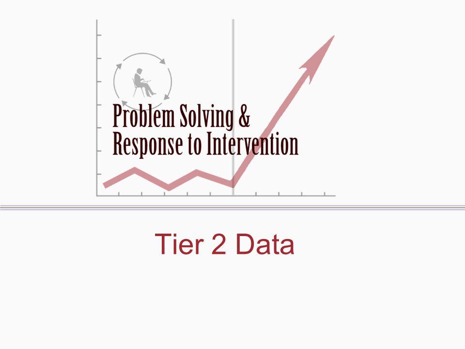 Tier 2 Data