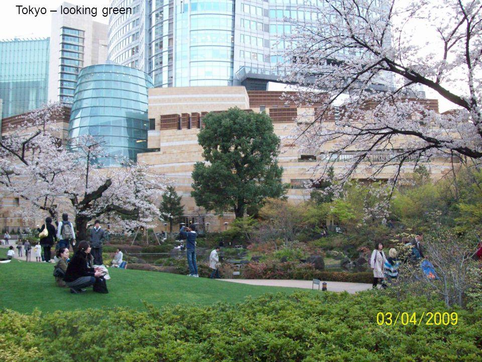 Tokyo – looking green