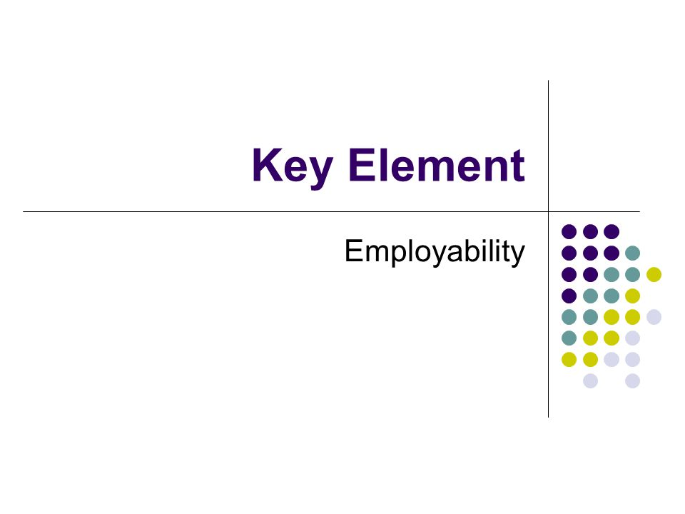 Key Element Employability