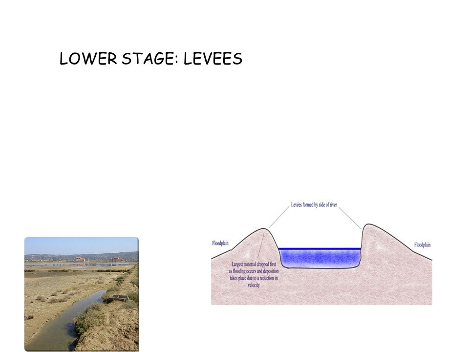 LOWER STAGE: FLOODPLAINS