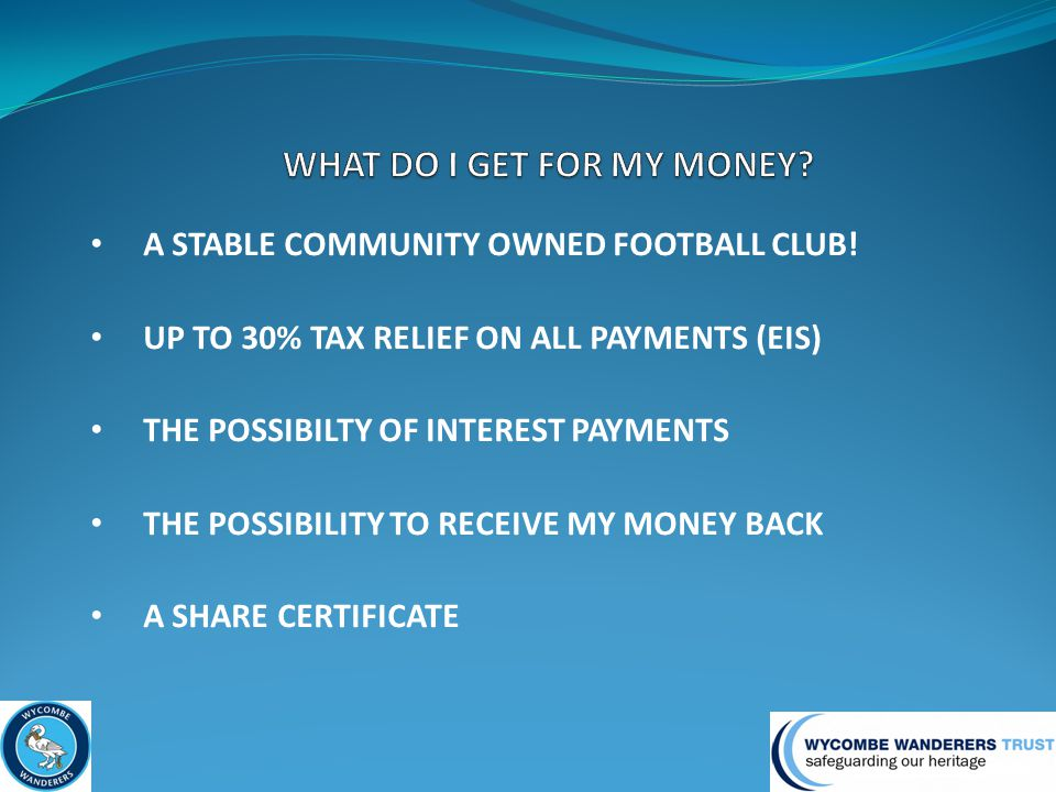 A STABLE COMMUNITY OWNED FOOTBALL CLUB.