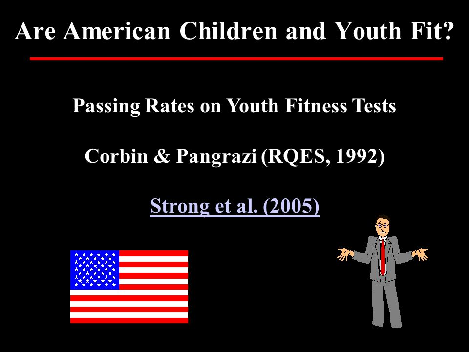Are American Children and Youth Fit.