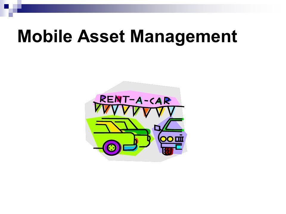Mobile Asset Management