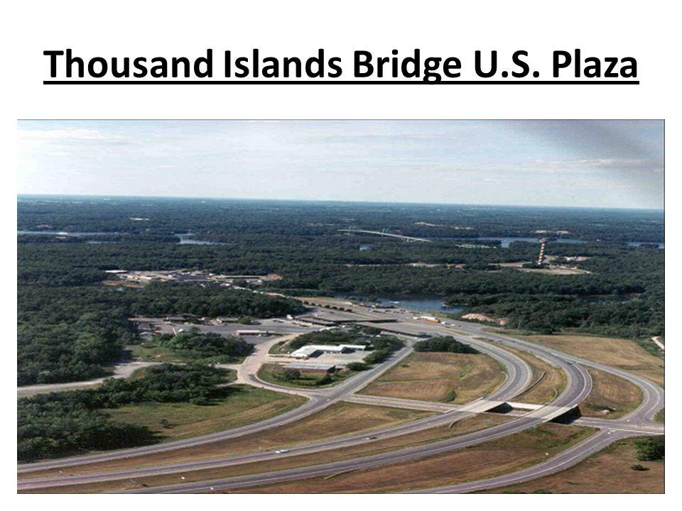 Thousand Islands Bridge U.S. Plaza