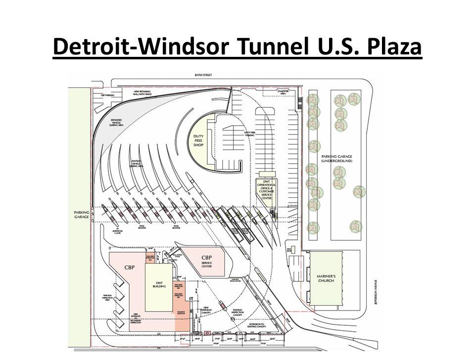 Detroit-Windsor Tunnel U.S. Plaza