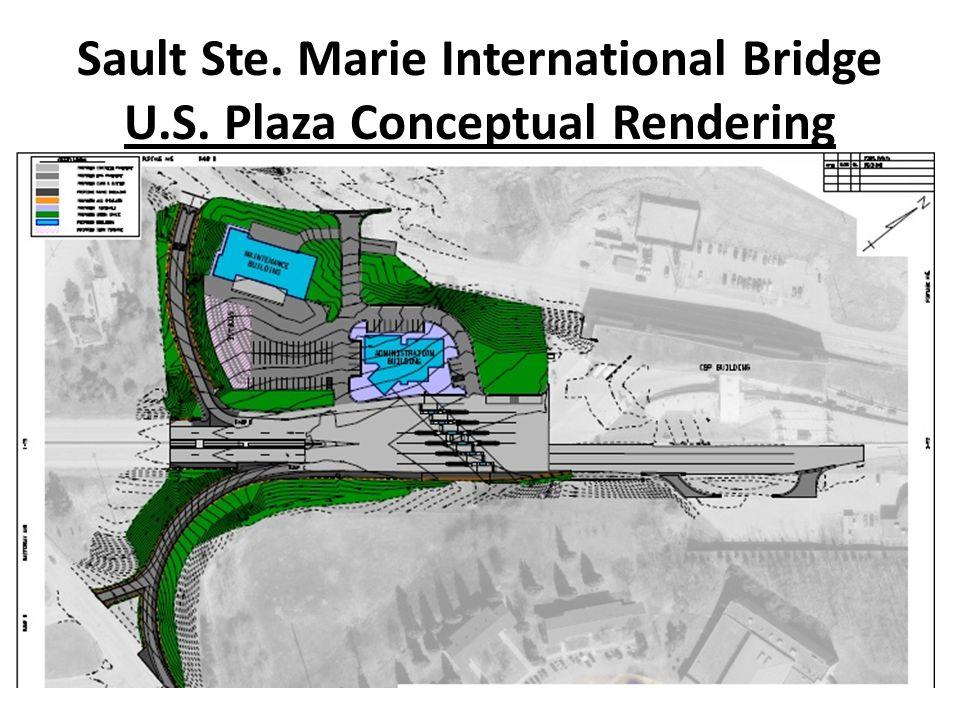 Sault Ste. Marie International Bridge U.S. Plaza Conceptual Rendering