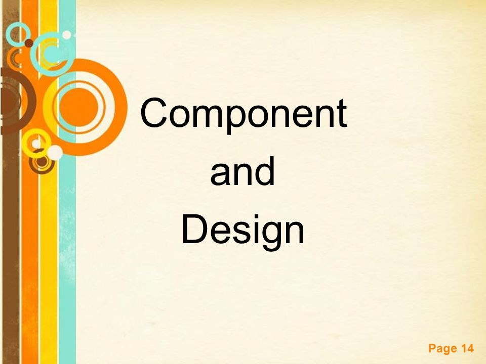 Free Powerpoint Templates Page 14 Component and Design