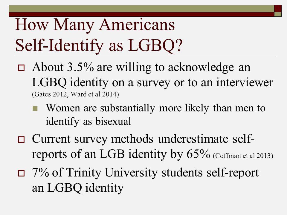 How Many Americans Self-Identify as LGBQ.